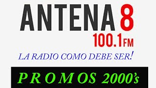 ANTENA 8 / P R O M O S  del 2008 (Panamá Radio Histórica)