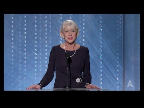 Helen Mirren 2016 Governors Awards Welcome