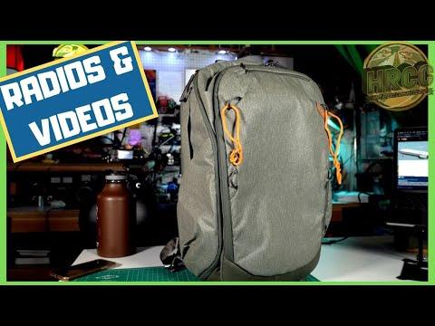 Whats In My Peak Design Travel Bag For Amateur Radio Videos?
