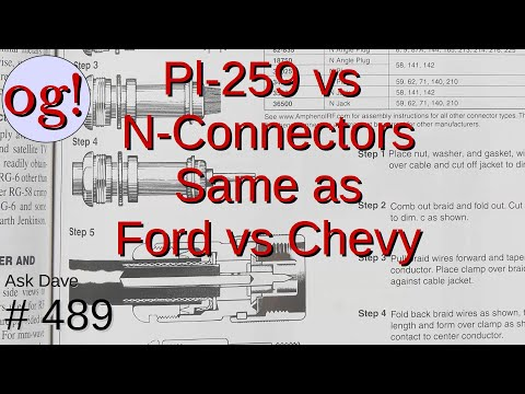Pl-259 vs N-Connectors is similar to Ford vs Chevy (#489)