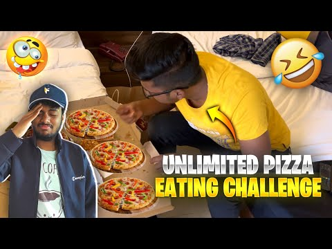 UNLIMITED PIZZA CHALLENGE GONE WRONG #shorts #AssassinsArmy #Totalgaming
