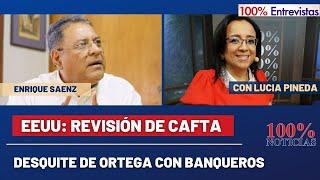 ????????????EEUU: Revisión de CAFTA/ Impacto: Desquite de Ortega con banqueros/ 100% Entrevistas