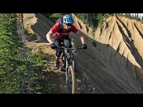 No Room For Error on this Alaskan Ridgeline MTB Trail | Backcountry Hut: Part 2