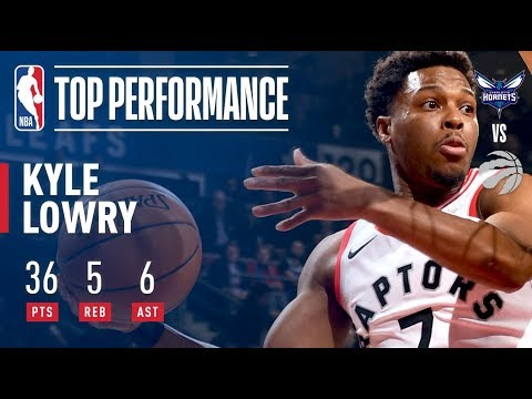 Kyle Lowry Hits Season-Best 36 Points vs. Hornets | November 29, 2017