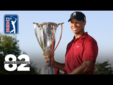 Tiger Woods wins 2009 BMW Championship | Chasing 82