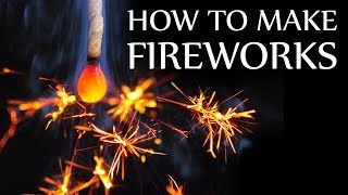 How To Make Senko Hanabi Sparklers (very rare Japanese fireworks)
