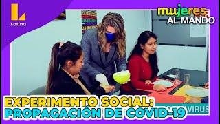 Experimento social - Propagación del coronavirus (1 de Julio)