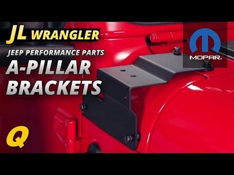 Mopar A-Pillar Mounting Bracket for Jeep Wrangler JL