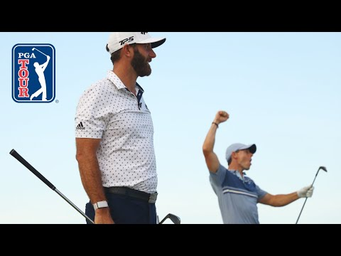 McIlroy and DJ's winning highlights from TaylorMade Driving Relief