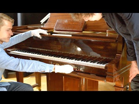 Self Playing Steinway Duo-Art Piano - recorded by Sergei Prokofiev