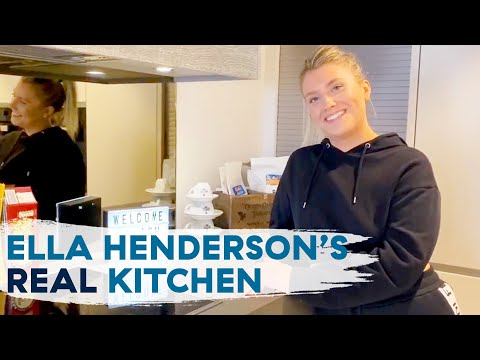 Ella Henderson From X Factor Shows Us Her Home Kitchen