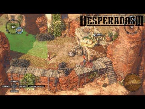 DESPERADOS 3 (PC Demo) - Commandos en el Salvaje Oeste || GAMEPLAY en Español