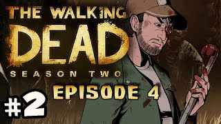 KNEE TECHNIQUE - The Walking Dead Season 2 Episode 4 AMID THE RUINS Walkthrough Ep.2