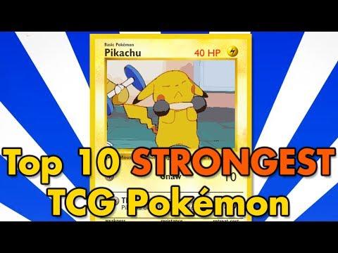 connectYoutube - Top 10 All-Time Strongest TCG Pokémon