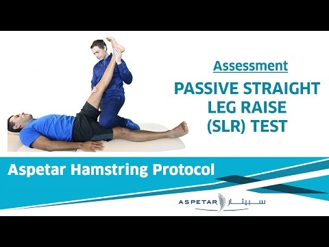 8. Assessment - Passive Straight Leg Raise (SLR) Test