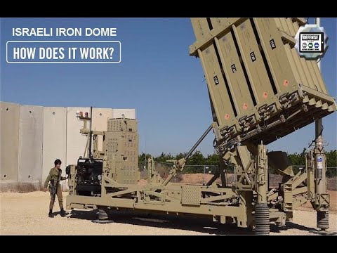 How Israeli made IRON Dome air defense missile system works to destroy HAMAS rockets from Gaza