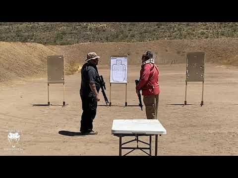 Is A Red Dot On A Rifle Faster Than An LPVO At Home Defense Distances?