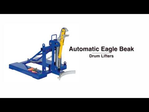 Automatic Eagle Beak Drum Lifters Product Video