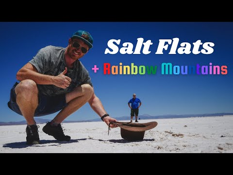 SALT FLATS + Rainbow Mountains 🌈 | Visiting PURMAMARCA + SALINAS GRANDES in JUJUY, Argentina 🇦🇷