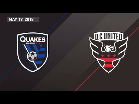 HIGHLIGHTS: San Jose Earthquakes vs. D.C. United | May 19, 2018