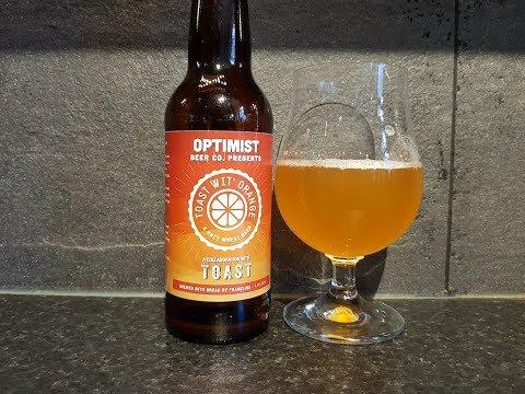 Optimist Toast Wit' Orange By Optimist Beer Co | British Craft Beer Review