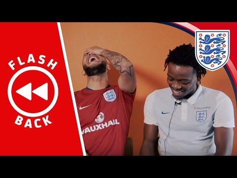 Lewis Baker & Nathaniel Chalobah react to their England U21 training sessions | Flashback