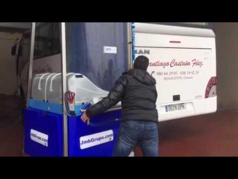 Máquina de Lavado de autobuses Monocepillo Jmb en Zamora