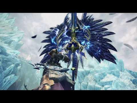 """MHW: Iceborne - """"Águia Negra"""", Vencedor do Concurso de Design de Arma"""