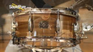 Metro Drums 6.25x14 Queensland Walnut Ply Snare Drum Quick n' Dirty