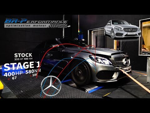 Mercedes C400 3.0T Remap Stage 1 By BR-Performance