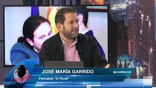 JOSÉ Mª GARRIDO: ¡EXISTE ENORME TENSIÓN ENTRE SÁNCHEZ E IGLESIAS! , VA A SEGUIR OCURRIENDO SIEMPRE