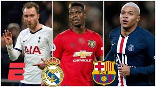 Real Madrid, Barcelona y los refuerzos que podemos ver para el 2020, ¿Eriksen, Pogba, Mbappe
