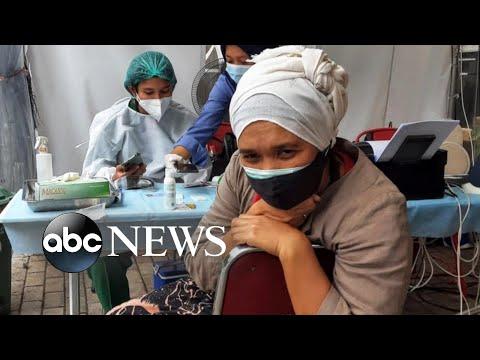 Indonesia faces devastating new COVID surge