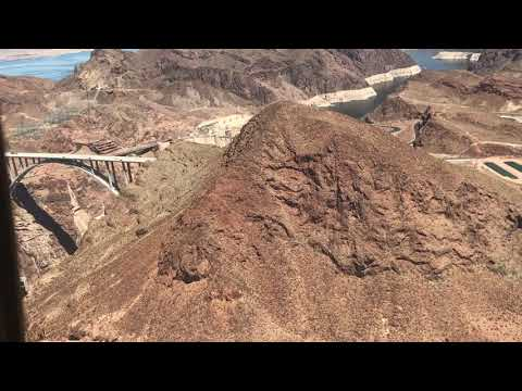 Helicopter Flight over Hoover Dam  - Video #106