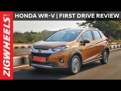 Honda WR-V (WRV) | First Drive Review | ZigWheels