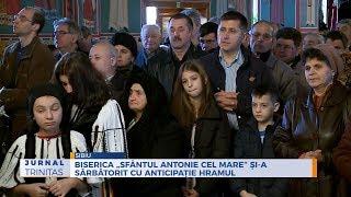 """Bierica """"Sfantul Antonie cel Mare"""" si-a sarbatorit cu anticipatie hramul"""