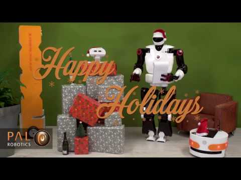 Happy Holidays from PAL Robotics!