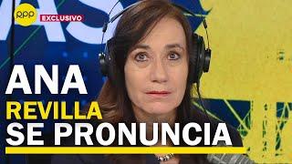 """Ana Revilla: """"Es falso que yo haya propiciado alguna reunión de Odebrecht con el exministro Liu"""""""