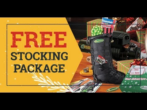 Quadratec Gift Card Package with Free Tactical Stocking