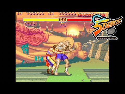 "[BIS] SUPER STREET FIGHTER 2: THE NEW CHALLENGERS (VEGA) - ""CON 5 DUROS"" Episodio 120 (1cc) (CTR)"