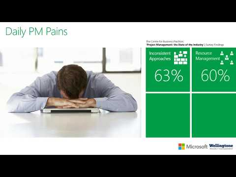 Addressing the most common PM Pains with Microsoft Project Online and Office 365 Webinar
