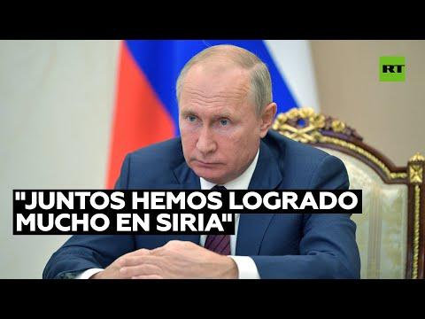 Putin: El semillero del terrorismo internacional en Siria fue prácticamente eliminado