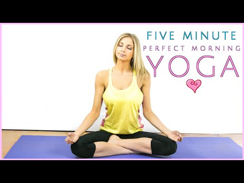 5 Minute Morning Yoga