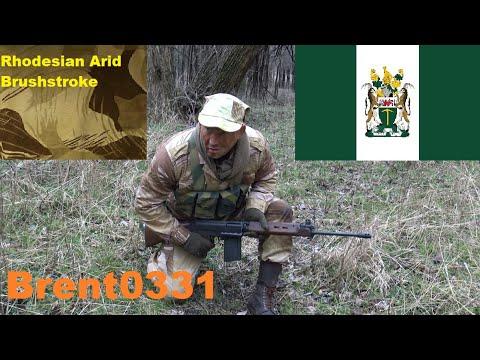 Rhodesian Arid Brushstroke Camouflage Effectiveness