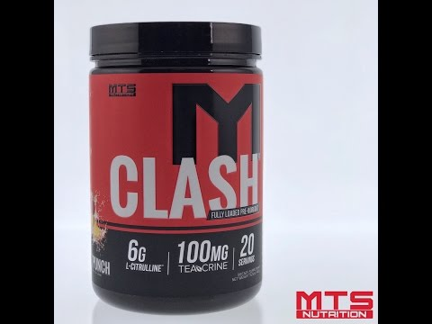 MTS Nutrition CLASH | Most Fully-Loaded PreWorkout Ever!