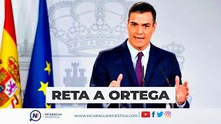 #URGENTE   Presidente de España reta a Daniel Ortega