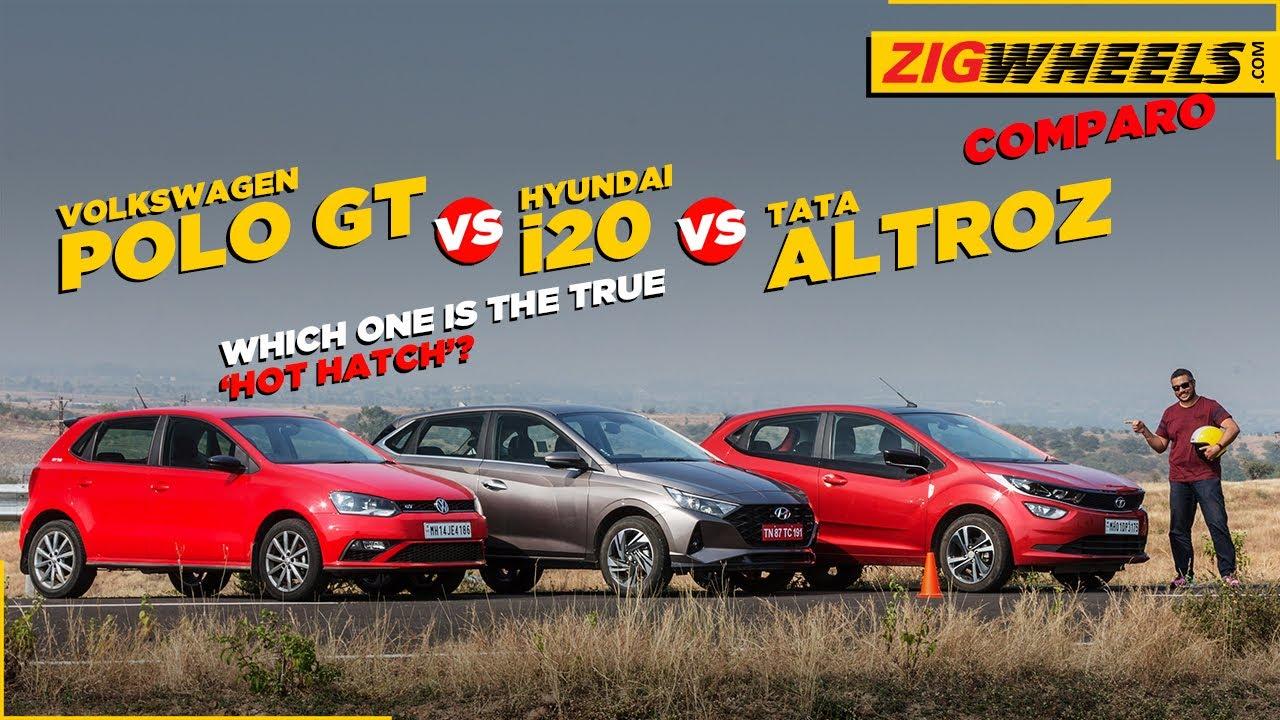 ಹುಂಡೈ I20 ವಿಎಸ್ ಪೋಲೊ ಜಿಟಿ; ವಿಎಸ್ ಟಾಟಾ ಆಲ್ಟ್ರೋಝ್ | normal cars; oddball comparo - part deux | zigwheels.com