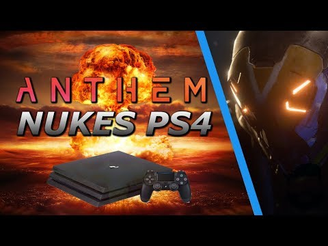 Anthem DESTROYING Playstation Consoles!  YIKES