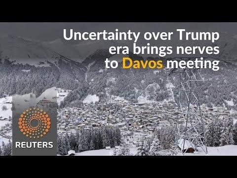 Davos kicks off as Trump era dawns