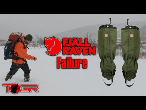 ⚠️ Unacceptable Performance ⚠️  Fjallraven Trekking Gaiters - Real Review